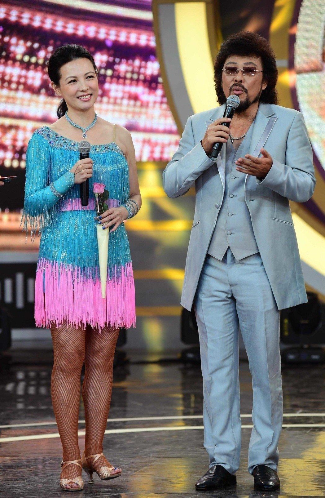 陳孝萱離婚,張菲竟讚老天有眼。圖/華視提供